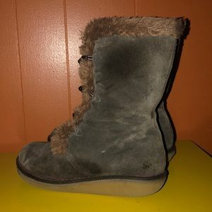 Earth Shoes - Earth Wyandot Brown Suede Winter Boots
